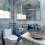 地中海风格6平米卫生间装修图片