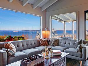 200平米大型度假海景房别墅装修效果图
