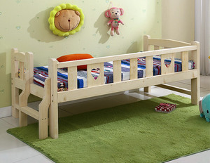 30平米美式简约风格儿童房床饰装修效果图