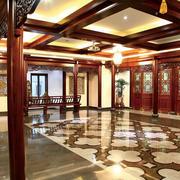 古典园林:中式酒楼装修设计效果图