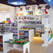 70平米现代简约风格小孩子玩具专卖店装饰