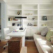 房屋恬静书房设计