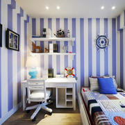 现代地中海风格15平米儿童房装修图片