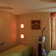 美容院欧式风格壁纸装饰