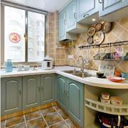 92平米地中海风格家居厨房装修图片
