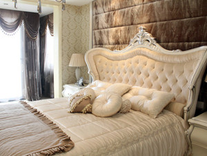 复式楼欧式简约风格交换空间卧室装修效果图