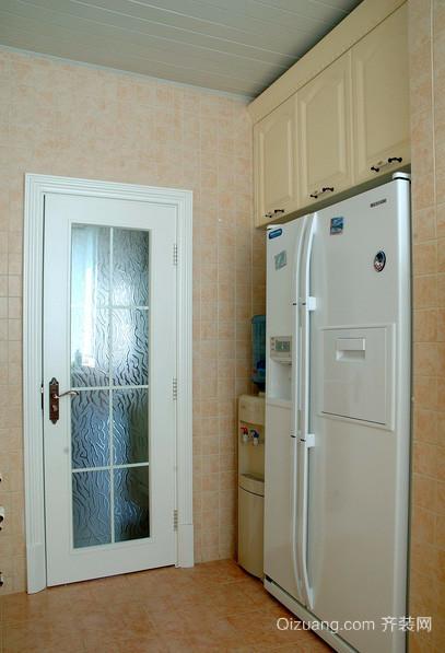 80平米韩式清新风格卫生间门装修效果图