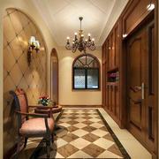 美式风格房屋玄关装饰