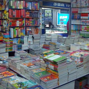 书店货架设计图片