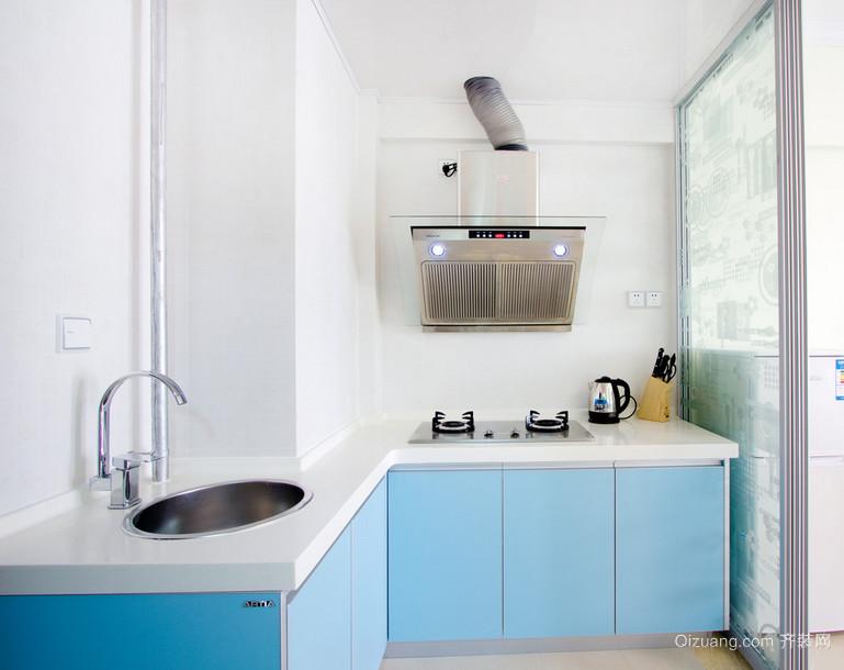 现代完美大户型欧式开放式厨房装修效果图鉴赏