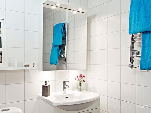 100平米老房改造现代简约风格卫生间装修图