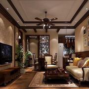 美式简约风格房屋照片墙装饰
