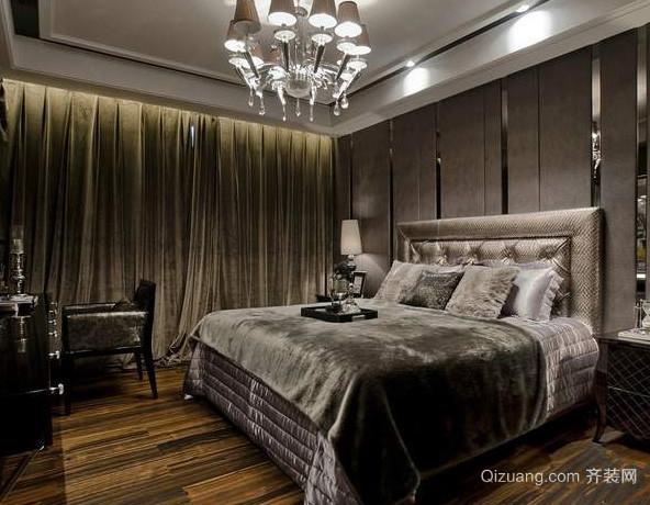 大户型别墅后现代风格交换空间卧室装修效果图