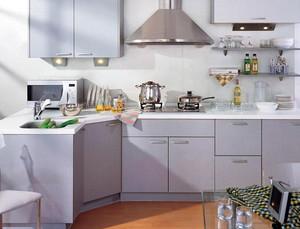 120平米复式楼现代简约风格厨房装修效果图