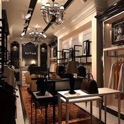 90平米后现代风格时尚服装店装修图