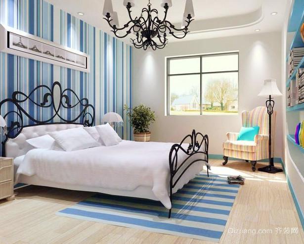 两室一厅地中海风格交换空间卧室装修