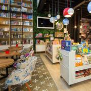 自然风格书店设计图片