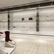灰色调鞋店设计大全