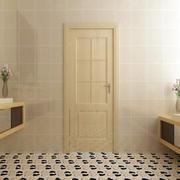 跃层日式风格清新卫生间门装修效果图