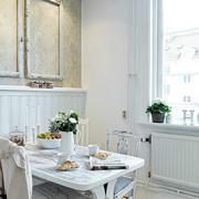 90平米小户型老房改造北欧风格餐厅装修效果图