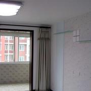 50平米老房改造单身公寓客厅装修效果图