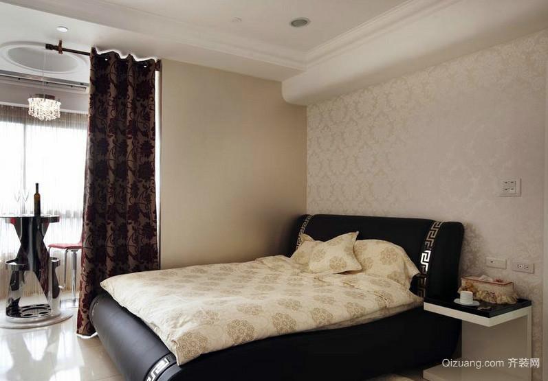 都市简约一居室卧室液体壁纸效果欣赏
