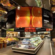高级都市大型水果店装修效果图