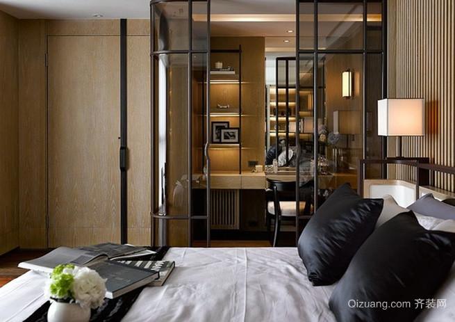 大型顶级别墅豪宅后现代风格卧室装修效果图