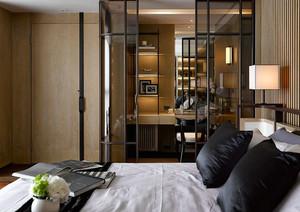 大型别墅豪宅后现代风格卧室装修效果图