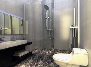 110平米大户型雅观的欧式卫生间装修效果图欣赏