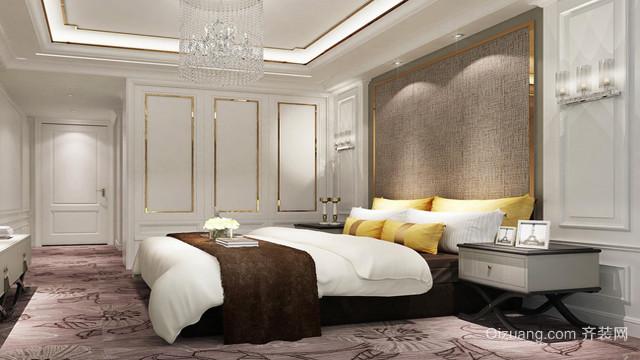 2016欧式别墅内部卧室装修效果图欣赏大全