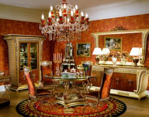 优美高贵的别墅型欧式餐厅装修效果图鉴赏