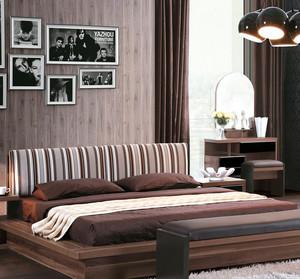 30平米现代简约风格榻榻米床装修效果图