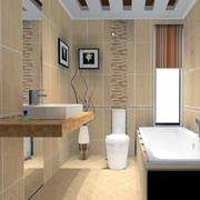 现代卫生间造型图