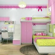 女孩子的梦:现代浪漫儿童房装饰设计图