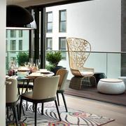 180平米顶级别墅豪宅欧式简约餐厅装修效果图