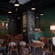 美式风格咖啡店墙饰装饰