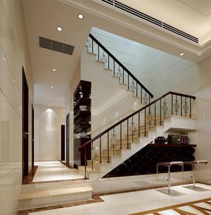 2016都市现代别墅唯美楼梯扶手装修效果图