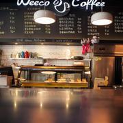 美式简约风格咖啡店装饰