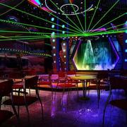 都市风格大型歌厅灯光装修效果图