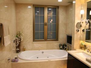 复式楼欧式简约风格卫生间装修效果图