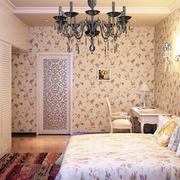 欧式田园风格卧室衣柜装饰