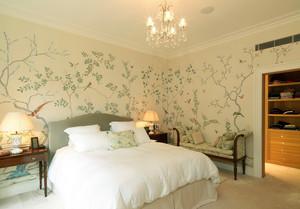 清新美式小木屋卧室液体壁纸欣赏