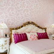 30平米欧式风格卧室液体壁纸装修效果图