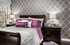 100平米美式房屋小卧室液体壁纸欣赏