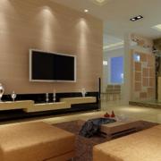 2016精美的大户型欧式客厅电视墙装修效果图