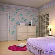 卧室壁纸装修图片