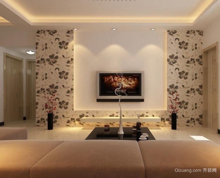 现代欧式大户型电视背景墙装修效果图鉴赏