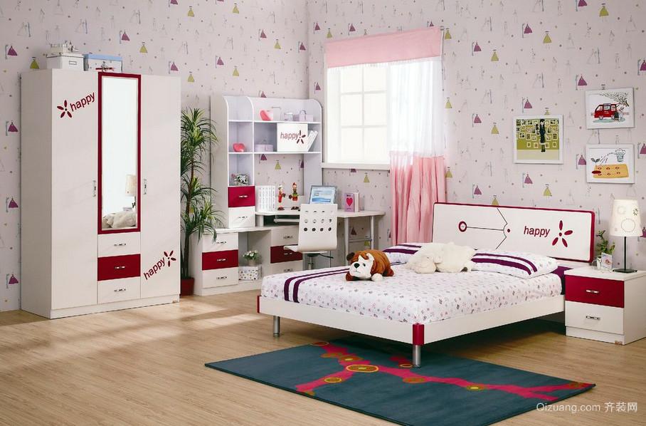 都市小复式楼精致儿童房装饰设计图片