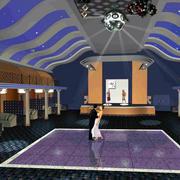 200平米欧式简约风格歌舞厅装修效果图